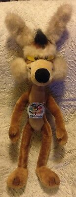"""Vintage Large 31""""  Wile E. Coyote Warner Bros Plush Looney Tunes 1991 Poseable!!"""