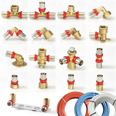 Fittings Multi Layer Composite Pipe Press Fittings Pipe 16x2 20x2 26x3 32x3 D Th