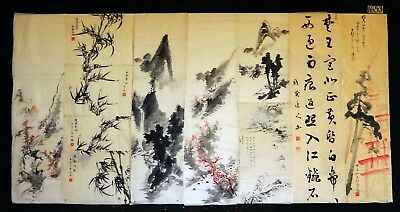 11x 19C/20C Japanese Mixed Lot Paintings, Drawings, Calligraphies (HMA) #1653