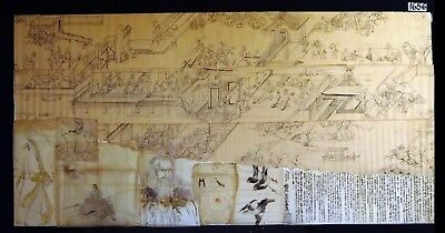 10x 19C/20C Japanese Mixed Lot Paintings, Drawings, Calligraphies (HMA) #1656