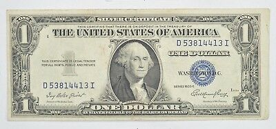 Godless - No In God We Trust $1.00 Silver Certificate 1935 - High Grade *675