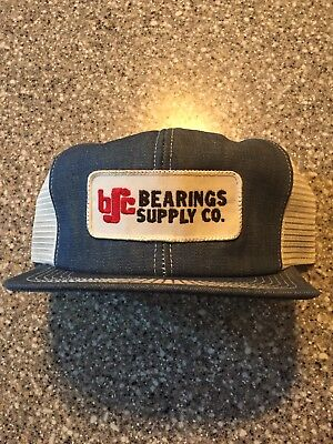 Rare Denim Bearings Supply Co. SnapBack K Brand products trucker Hipster hat cap
