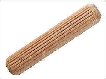 KWB Wooden Dowels 10mm (Pack of 120) KWB028600