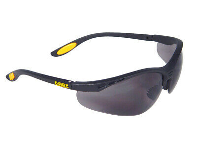 DEWALT Reinforcer Safety Glasses - Smoke DEWSGRFS