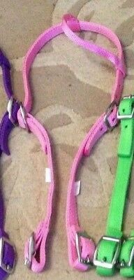 New pink full sz one ear bridle