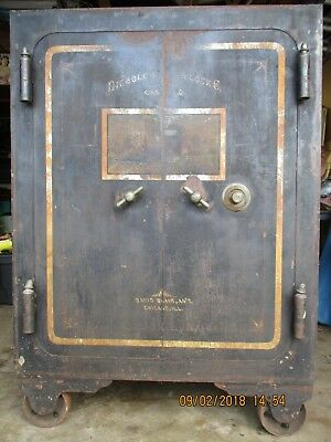 1860 DIEBOLD SAFE and Lock Co  Safe - Antique Safe (LOCAL PICK UP ONLY!!!!!)
