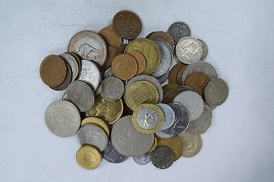 Roughly a POUND of Mixed World Coins - Great Mix *519