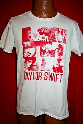 TAYLOR SWIFT Red Concert Tour Promo T-SHIRT Adult Medium COUNTRY MUSIC