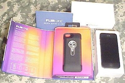 FLIR One Thermal Imaging Camera + w/iPhone 5 Package~Only Package Like It~Cheap!