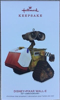 2018 Hallmark Ornament Disney Pixar WALL-E 10th Anniversary - MIB
