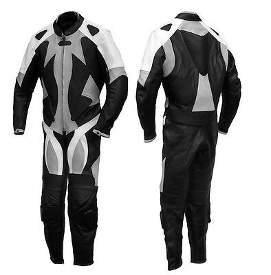 Custom Tailor Made Leather Sports Racing Motorcycle Suit Padded Model RK-2015