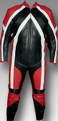 Custom Tailor Made Leather Sports Racing Motorcycle Suit Model RK-117