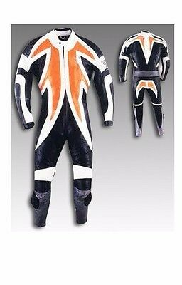 Custom Tailor Made Leather Sports Racing Motorcycle Suit RK-2017