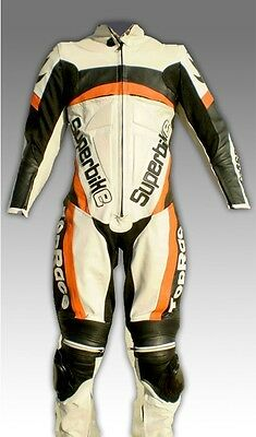 Custom Tailor Made Leather Sports Racing Motorcycle Suit Model RK-112