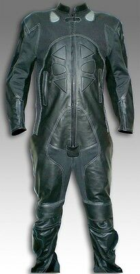 Custom Tailor Made Leather Sports Racing Motorcycle Suit Padded Model RK-474