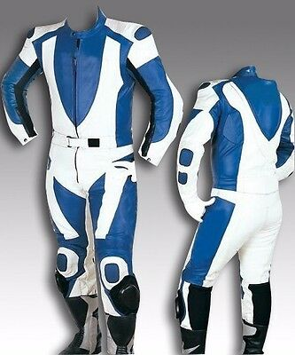 Custom Tailor Made Leather Sports Racing Motorcycle Suit Model RK-2038