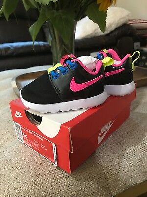 toddler girls nike roshe shoes size 4