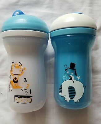 Tommee Tippee Insulated Flippee Straw Cup, 9oz, 2pc sippy toddler preschool