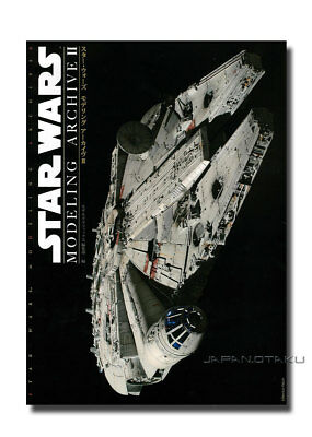 STAR WARS MODELING ARCHIVE II How to Build Mechanics & Characters Book's EP1/2/3