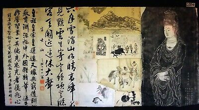 12x 19C/20C Japanese Mixed Lot Paintings, Drawings, Calligraphies (HMA) #2054