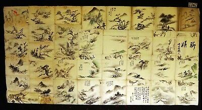 37x 19C/20C Japanese Mixed Lot Paintings, Drawings, Calligraphies (HMA) #2062