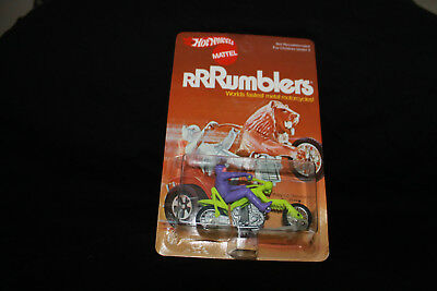 Hot Wheels RRRumblers Mattel Vintage Preying Menace 6644 Rumbler