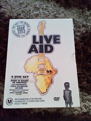 Live Aid New 4dvd