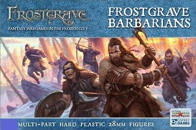 5x Frostgrave Barbarians Thugs Dnd D&D Dungeons & Dragons pathfinder Miniatures