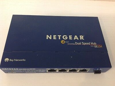 NETGEAR DS104 GR Dual-Speed-Hubs
