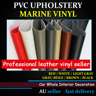 Leather Marine Vinyl Fabric Upholstery For Car Home Boat Upholstery 1.4M x 80CM
