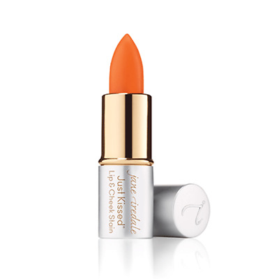 Jane Iredale Just Kissed Lip & Cheek Stain FOREVER PEACH Travel Sample Size mini