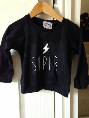 Tobias And The Bear Super Jumper Sweater Top Size 12-18 Months