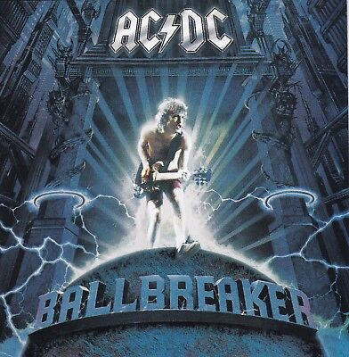 Ac Dc Ballbreaker Cd From 1995 Angus Young Brian Johnson Phil Rudd Rick Rubin