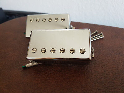 Gibson 490R + 498T chrome SET 2conductor