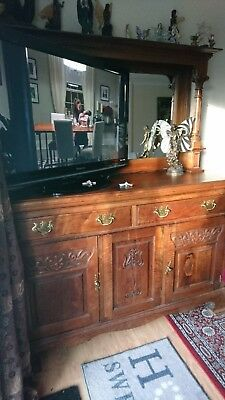 Gorgeous Antique Arts And Crafts Dresser Sideboard Large & Beautiful!