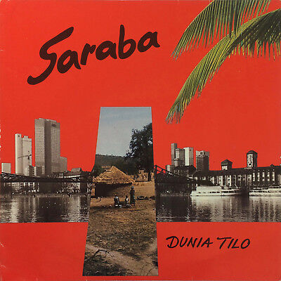 Saraba ‎– Dunia Tilo 1985 AFRO FUNK AFROBEAT SOUL Made in Germany SILENT SUN LP