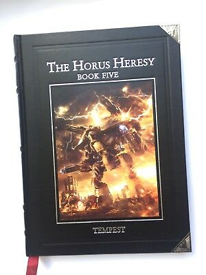 The Horus Heresy Book Five Tempest