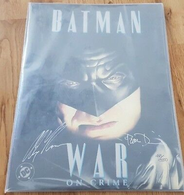 Batman 'War on Crime' DC Comic Limited Edition Pack 1990's