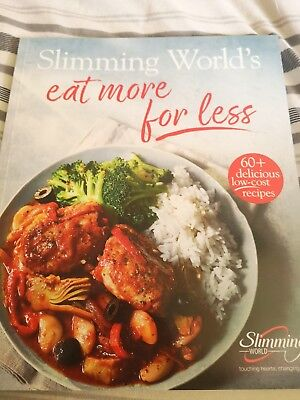 Slimming World Diet Programme Eat More For Less New 2018  Cook Recipe Book