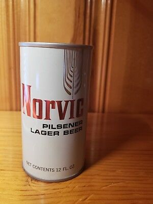 Norvic Pilsener Lager Beer can pull tab ... Du Bois Brewing Co. PA