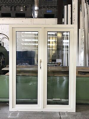 Second Hand Upvc French Doors 1540mm Wide By 2000mm Height No Cill