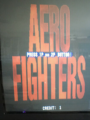 Aero Fighters ARCADE JAMMA PCB MOTHERBOARD USED WORKING