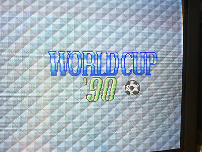 World Cup 90 - ARCADE JAMMA PCB MOTHERBOARD USED WORKING