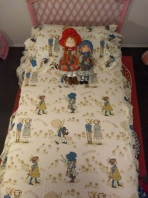 Holly Hobbie vintage bedding