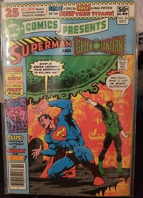 DC Comics Presents #26 first appearance of the New Teen Titans