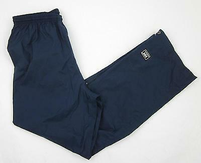 Womens Helly Hansen Packable Navy Blue Nylon Polyurethane Wind Pants Size Small