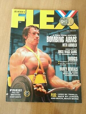 Flex magazine June 1989