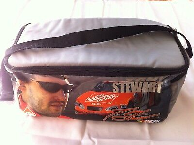 NASCAR TONY STEWART #20 LUNCH COOLER INSULATED ~33 x15 x15CM CARRY BAG DRINKS