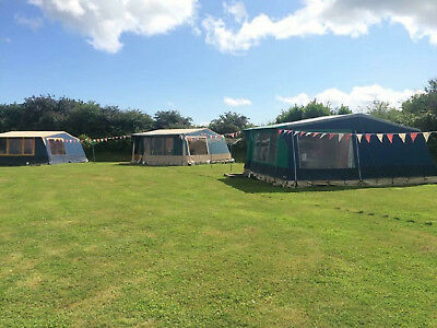Reduced 1 Wk Camping Holiday Cornwall Pre erected tent  Arrive 21st or 28th July