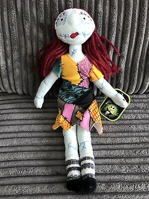 Rare Nightmare before Christmas Disney store exclusive tagged Plush Sally